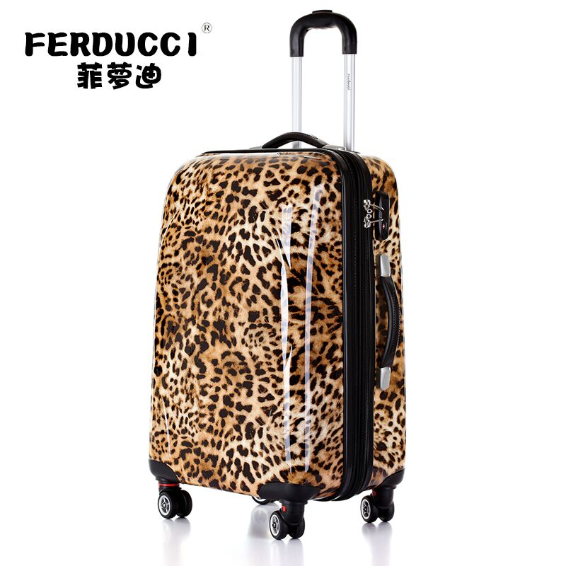 Pink Leopard Suitcase Promotion-Shop for Promotional Pink Leopard ...