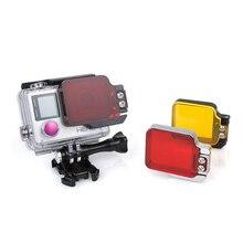 Go pro Light Motion Night under Sea Filter for GoPro Hero 4 3+ 3 Sport Camera Accessories GP205