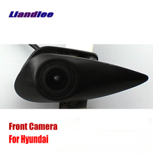 Liandlee For Hyundai Accent Tucson Elantra AUTO CAM Car Front View Logo Embedded Camera ( Not Reverse Rear Parking )