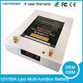Multi-function 12V 50Ah High Volume Lithium Lipo Battery Pack Charger for iPhone Android