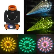 Raibow Effect 7R Sharpy 3в1 230 Вт движущаяся головка луч светильник с 7 шт. вращающиеся стеклянные гобо и двойные призмы колеса для сцены dj