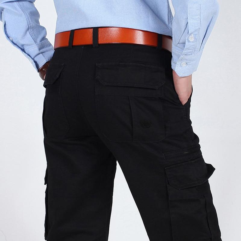 2018 신형 AFS ZDJP 남성용 카고 바지 남성용 바지 얇은 - 남성 의류 - 사진 2