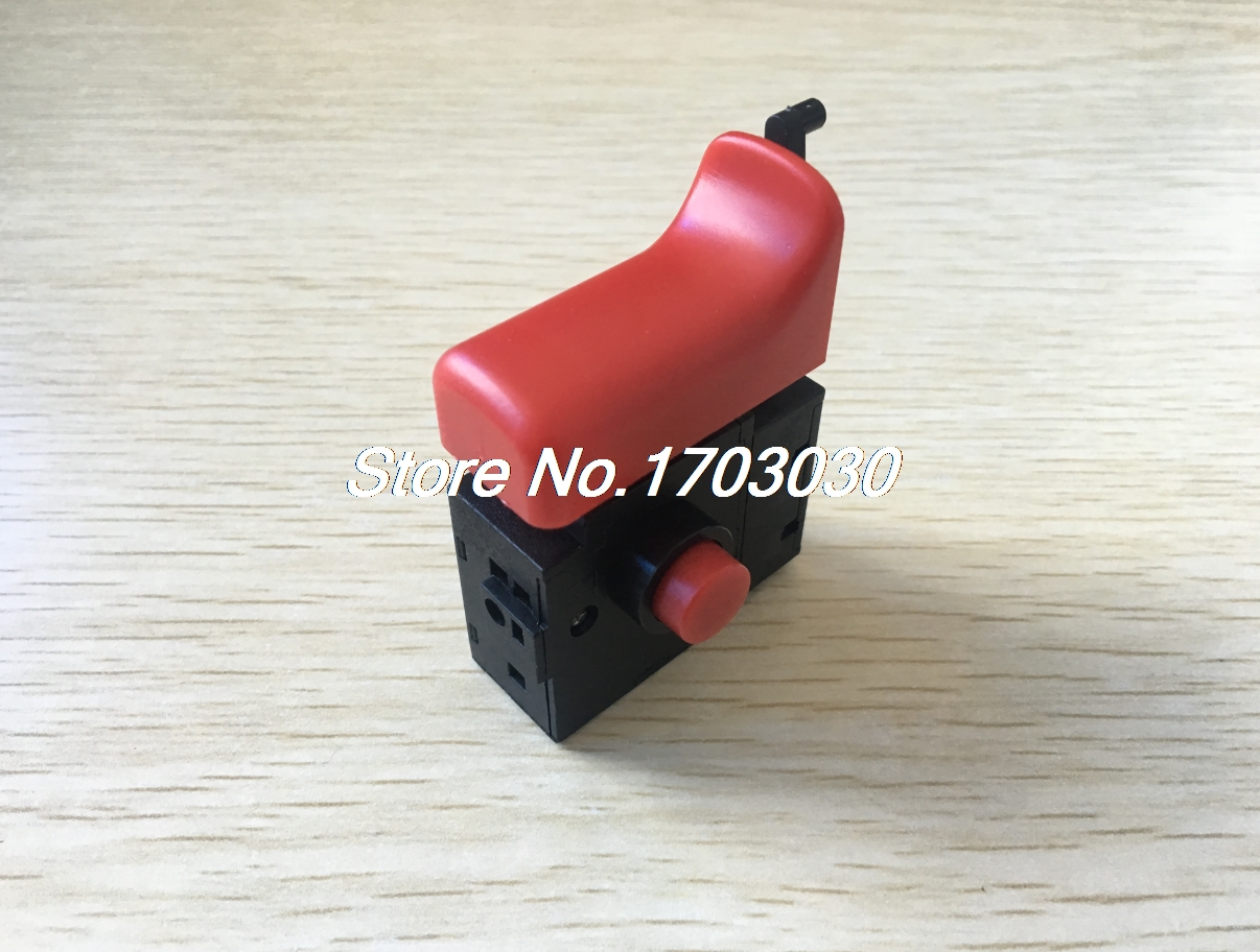 цена на Electric Drill Hammer Speed Control AC Trigger Switch 250V 6A for Bosch