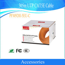 Dahua Security Cable 305m UTP CAT5E Cable Support PoE long-distance transmission CCTV Accessories Without Logo PFM920I-5EU-C