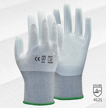 Super Soft Gardeing Safety Glove 13 Guage Nylon With Nitrile Dipped Work