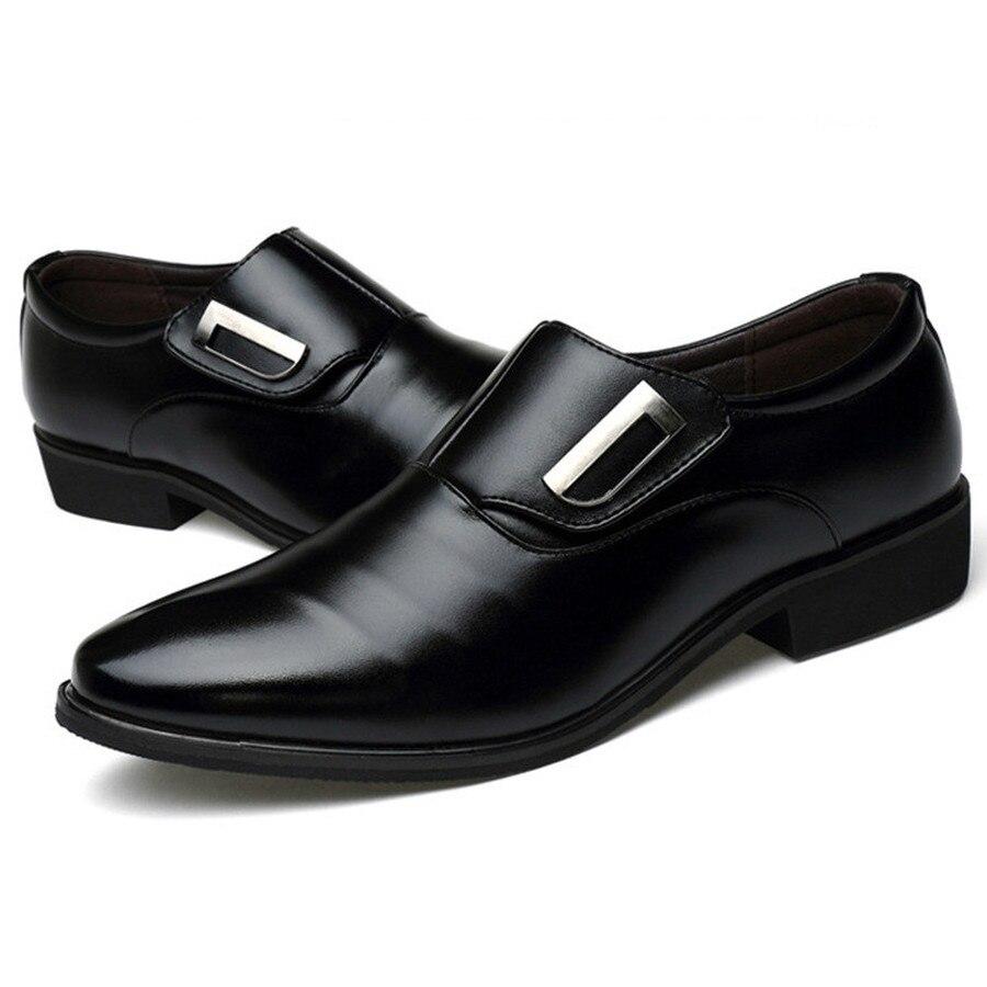 Image 4 - Dwayne/Роскошная брендовая мужская обувь; английский тренд; кожаная обувь для отдыха; дышащая мужская обувь; лоферы; мужская обувь на плоской подошве; большие размеры 37 48-in Мужская повседневная обувь from Обувь