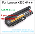 9 celular 7.95ah genuino 44 + + de la batería para lenovo thinkpad x230s x220i 45n1028 0a36305