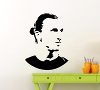 Zlatan Ibrahimovic Wall Sticker Sport Soccer Football Player Vinyl Decal Home Interior Decoration Fashion Teen Art