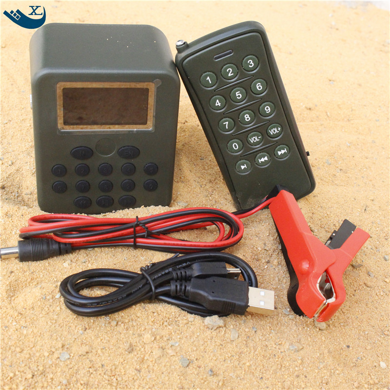 Wholesale Outdoor Hunting 50W 150Db12V Built-In 200 Mp3 Bird Sound Hunting Device Bird Caller Mp3 With Remote Control
