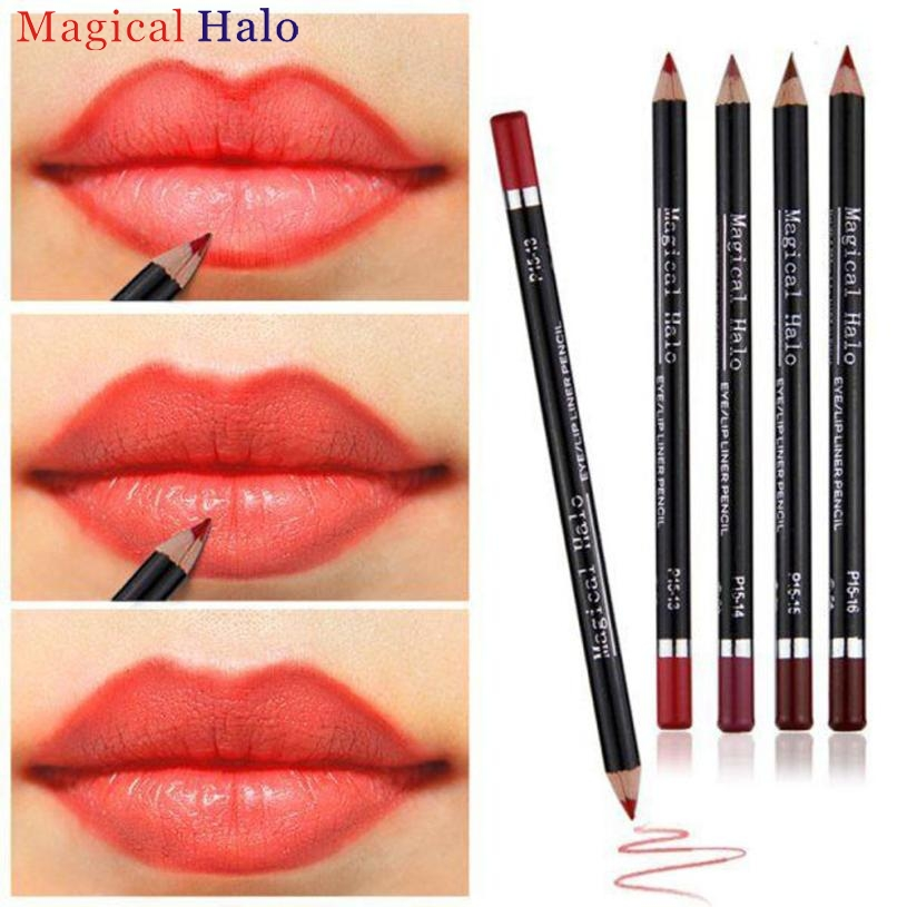 This lipstick & liner in one features a custom teardrop tip with two perfectly paired satin-finish shades. The deeper shade grabs and defines your lip line to prevent feathering and the complementing color fills in lips for the appearance of volume and .