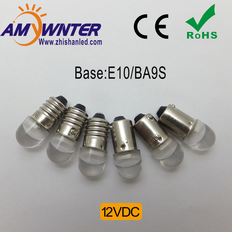 2017 Top Fashion T4w Ba9s E10 Bulbs Direct Selling Warm Car Cars Cree Chip 5050 Smd Instrument Lights Light Sourse Car-styling