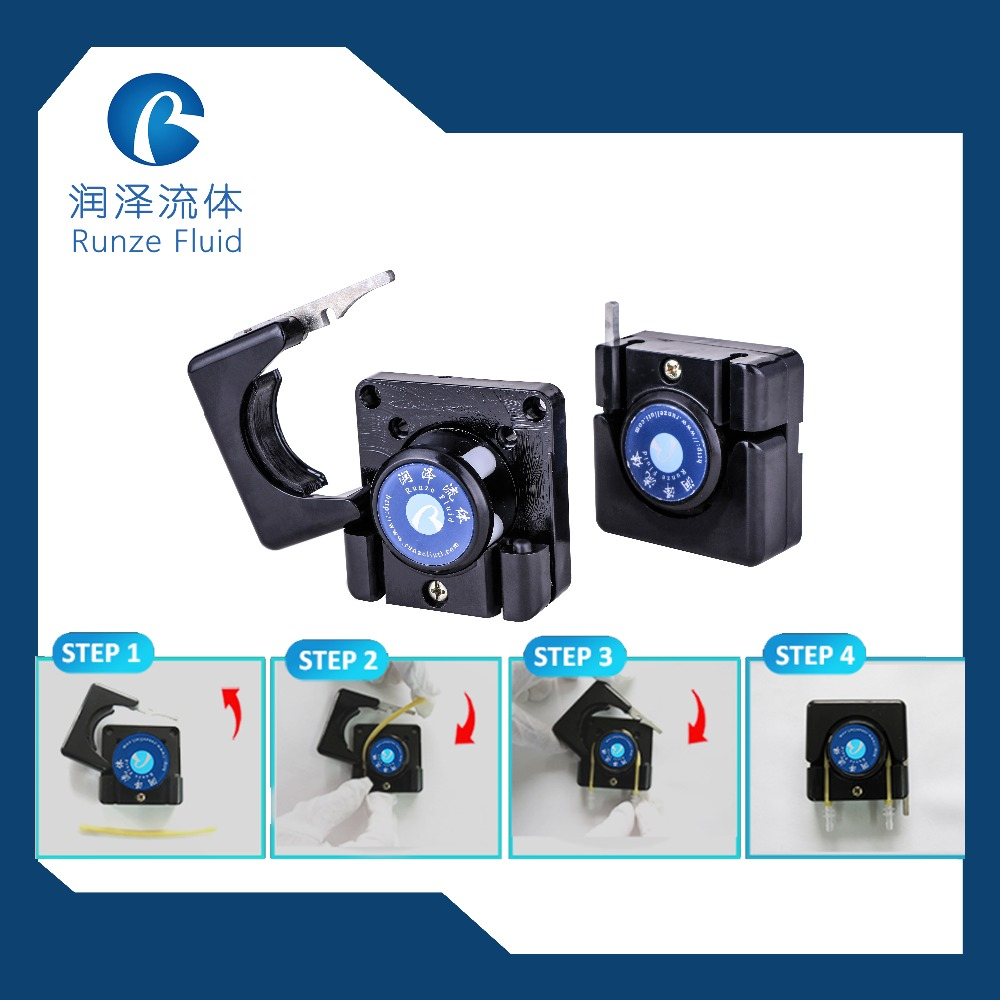 Start Stop Reversible Direction Low Flow Peristaltic Pump in Pumps from Home Improvement