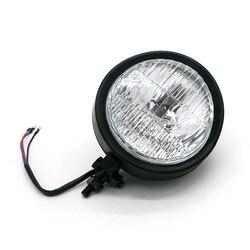 """6 """"Retro reflektor motocyklowy 35W lampa czołowa do Choppers cafe racer Universal Moto Head Light przednia żarówka na"""