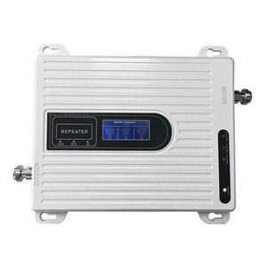 Image 3 - Birimi 900 1800 2100 mhz tri band 2G 3G 4G mobil sinyal güçlendirici GSM DCS LTE WCDMA UMTS cep telefonu tekrarlayıcı amplifikatör