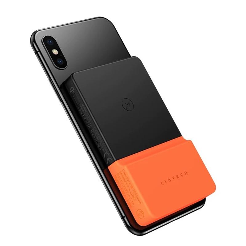 BricksPower 3000 mAh QI chargeur sans fil batterie externe mince Powerbank chargeur de batterie externe pour iPhone Samsung Xiaomi