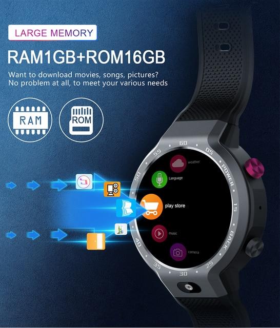 שעון חכם 4G 2019 אנדרואיד 4