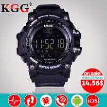 Продажа Новый EX16 Спорт Bluetooth Смарт часы Xwatch 5ATM IP67 Водонепроницаемый Smartwatch Шагомер Секундомер Будильник долгое время ожидания