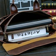 Men's messenger bags 14 inch laptop bag