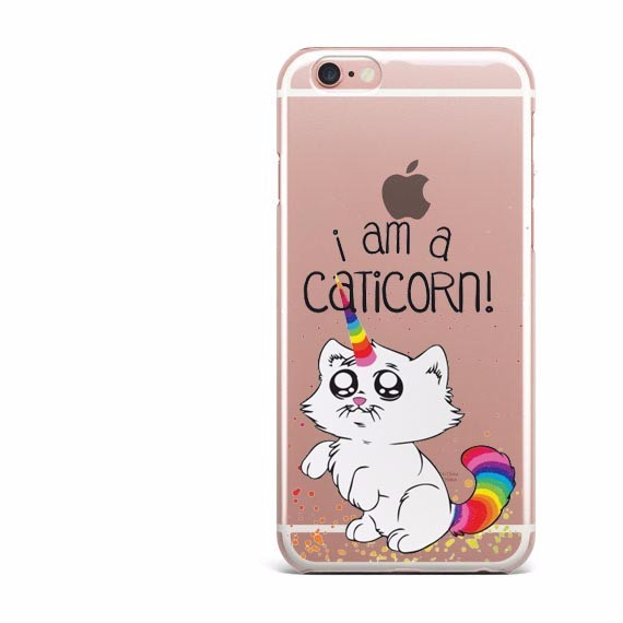 coque iphone 7 caticorn