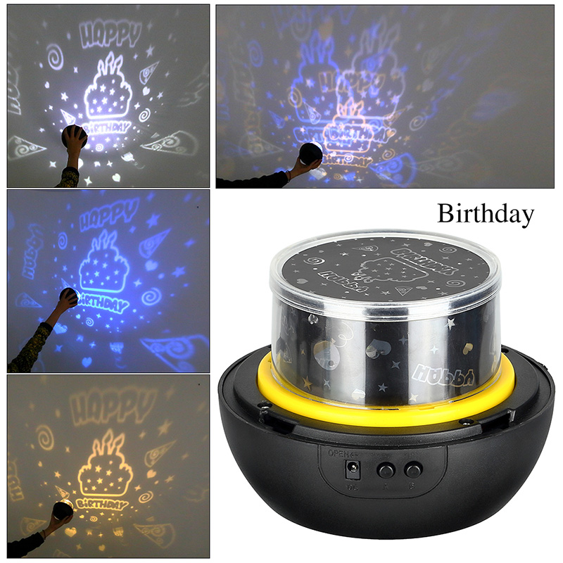HTB1I82EXeuSBuNjSsplq6ze8pXaf LED Night Light Starry Sky Magic Star Moon Planet Projector Lamp Cosmos Universe Luminaria Baby Nursery Light For Birthday Gift
