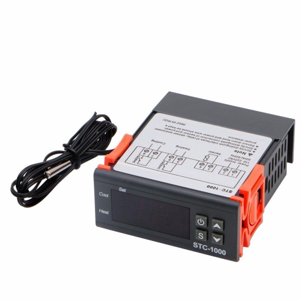 110 V-220 V Numérique STC-1000 Tout Usage Régulateur de Température Thermostat Capteur Produits De Contrôle De Température