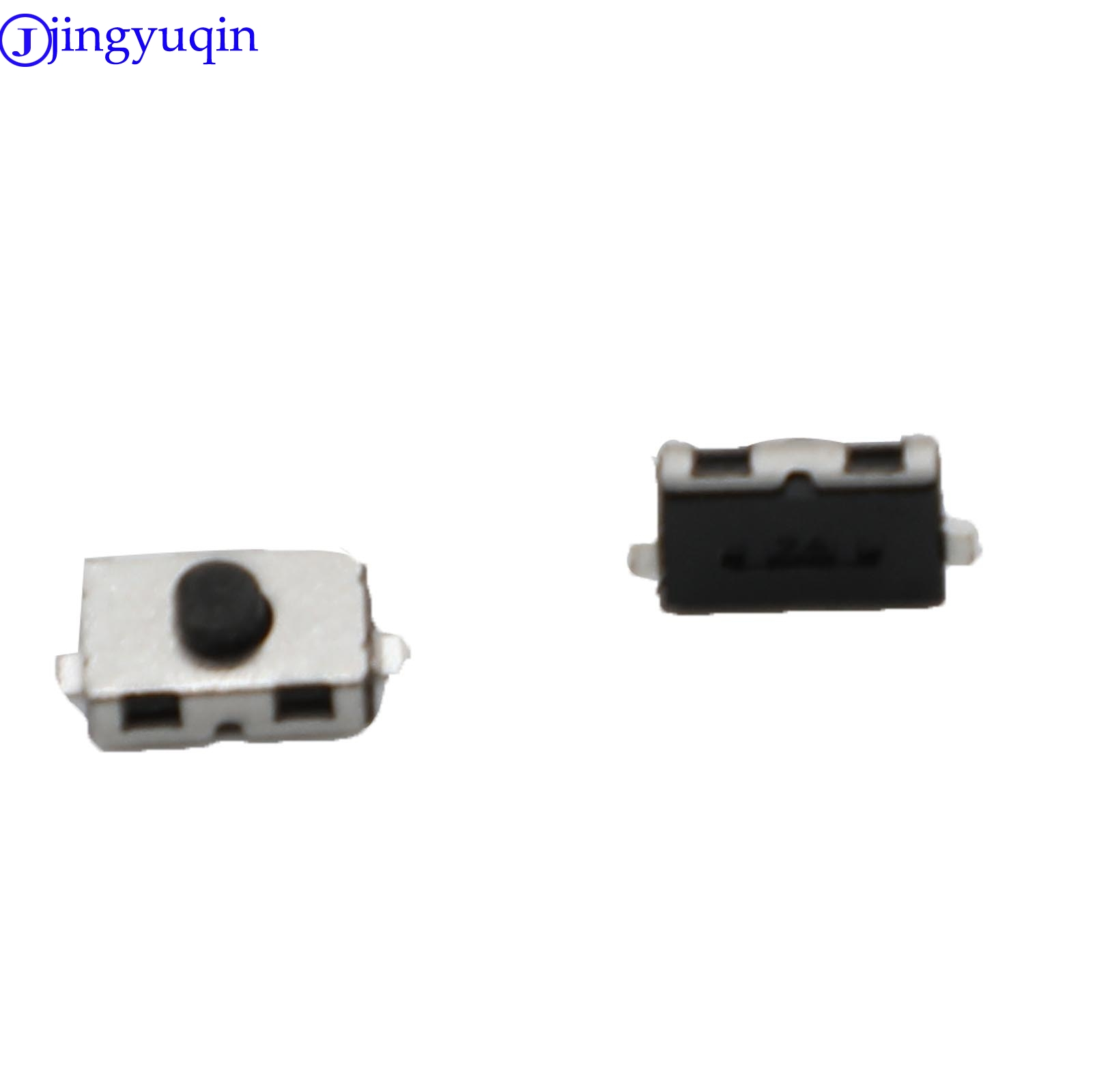 Jingyuqin 2pcs/lot Touch Swicth For Car Key For Citroen Peugeot Opel Tactile Switch Push Button Size 6*3.8mm