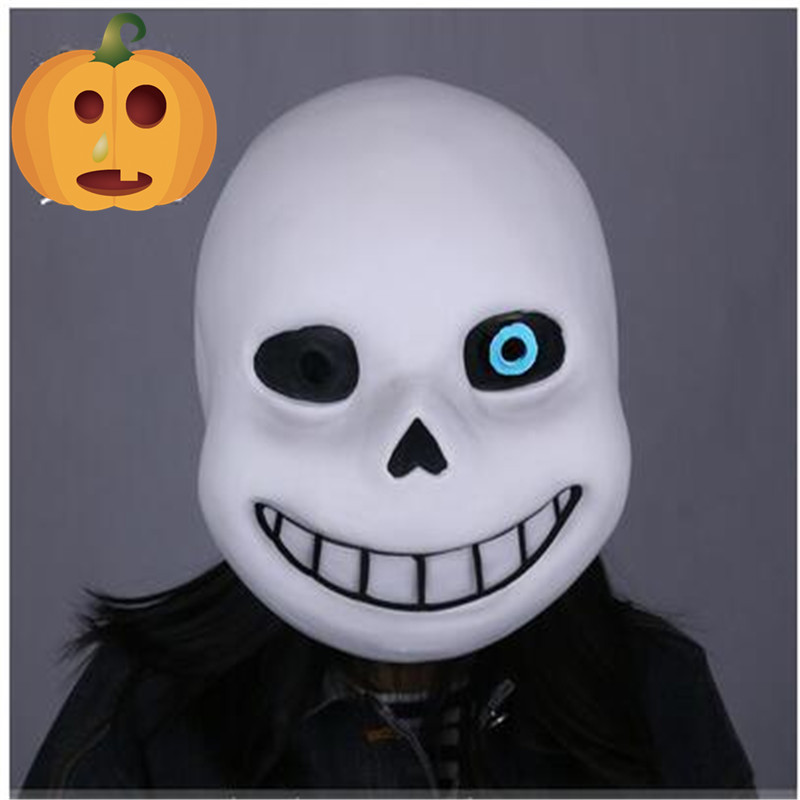 Hot Sale Famous Game Undertale Mask Cosplay Sans Papyrus helmet Full Head Masks Halloween Party Cosplay