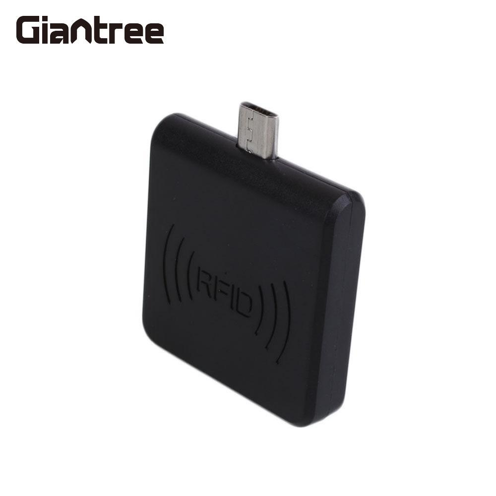 Giantree 125KHz Mini RFID Reader Mobile Phone Reader Micro USB RFID ID Card Reader Mirco USB Interface Support Android System usb 125khz rfid em card reader mirco usb interface for android
