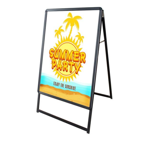 A0 A frame Sidewalk Sign Centch LED Portable Advertising Display ...