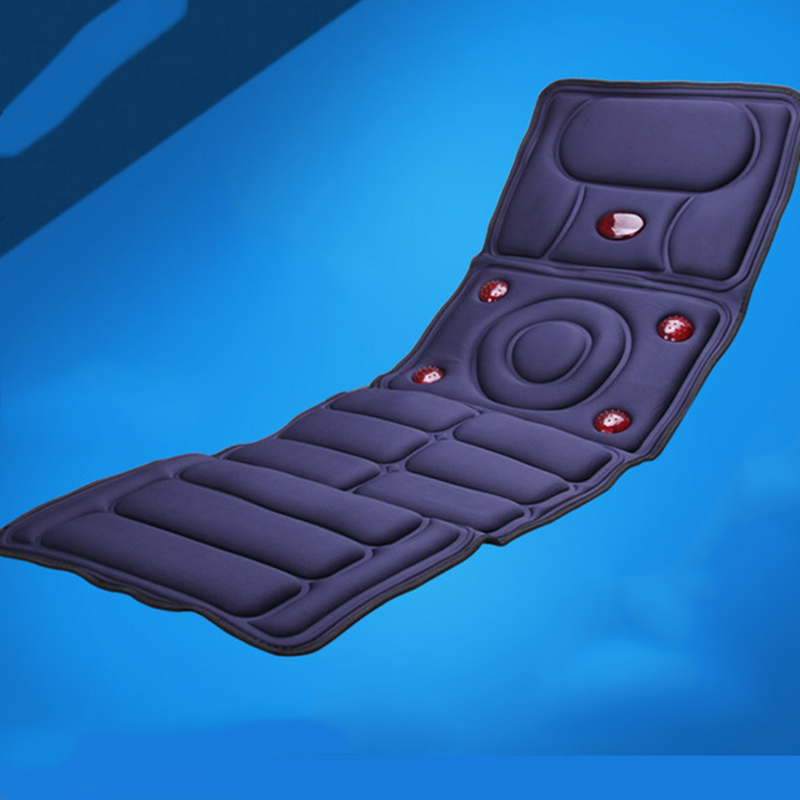 Collapsible Full-body Electric Massage Mattress Health Care Multifunction Cushion Blanket equipment Therapy Bed Relaxation I086