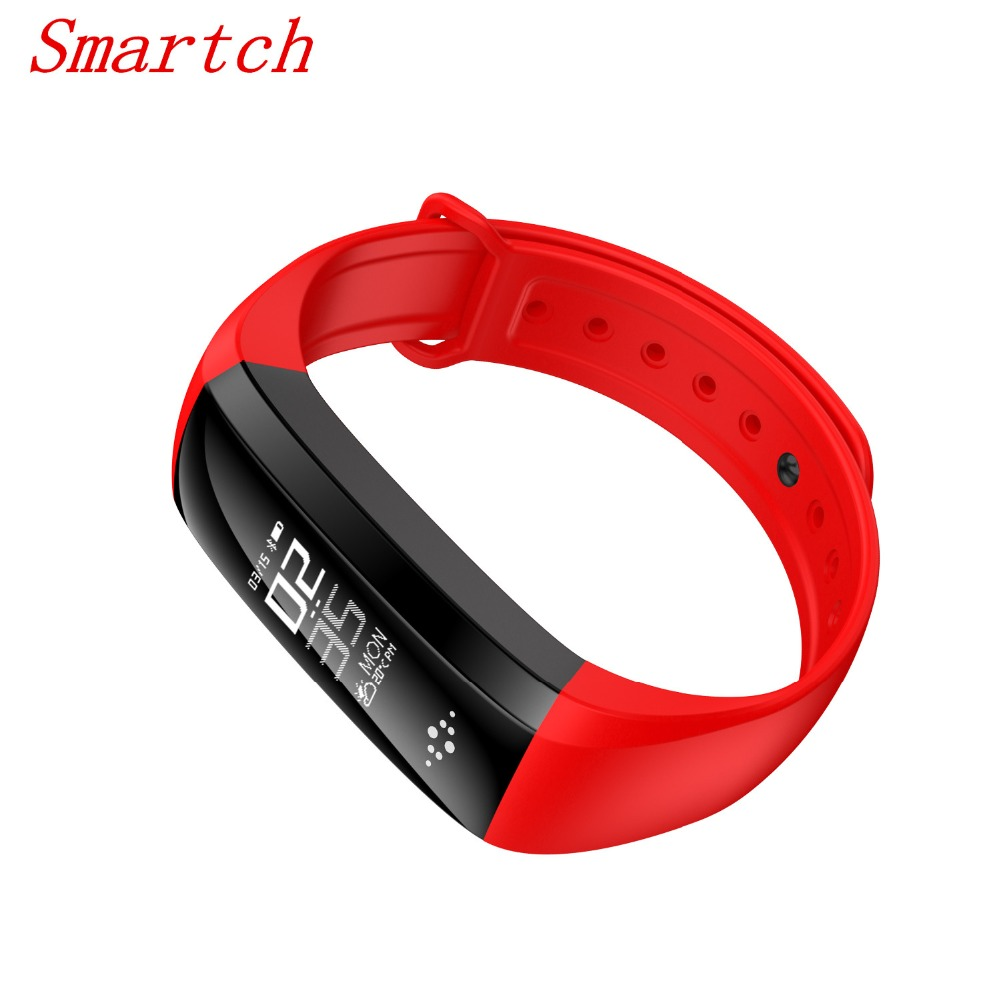 Smartch Smart Wristband M2S Fitness band Pedometer Smart Bracelet Blood Pressure heart rate Monitor Call SMS