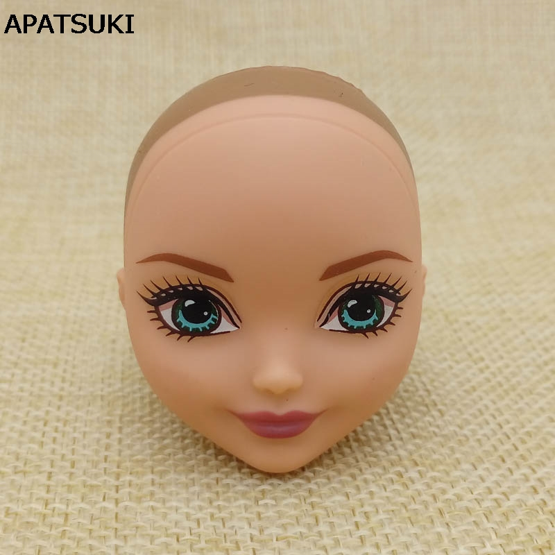 Kids Toy DIY Doll Head For Monster High Doll BJD Doll's Practicing Demon Monster Head Without Hair 1:6 1/6 Doll Accessories high quality doll head brown curly hair long eyelashes with fashion earrings diy gift accessories for 1 6 12 doll kids toy gift