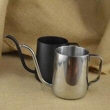 Starke 304 edelstahl halterung hand punch topf kaffeekanne drip schwanenhals auslauf wasserkocher
