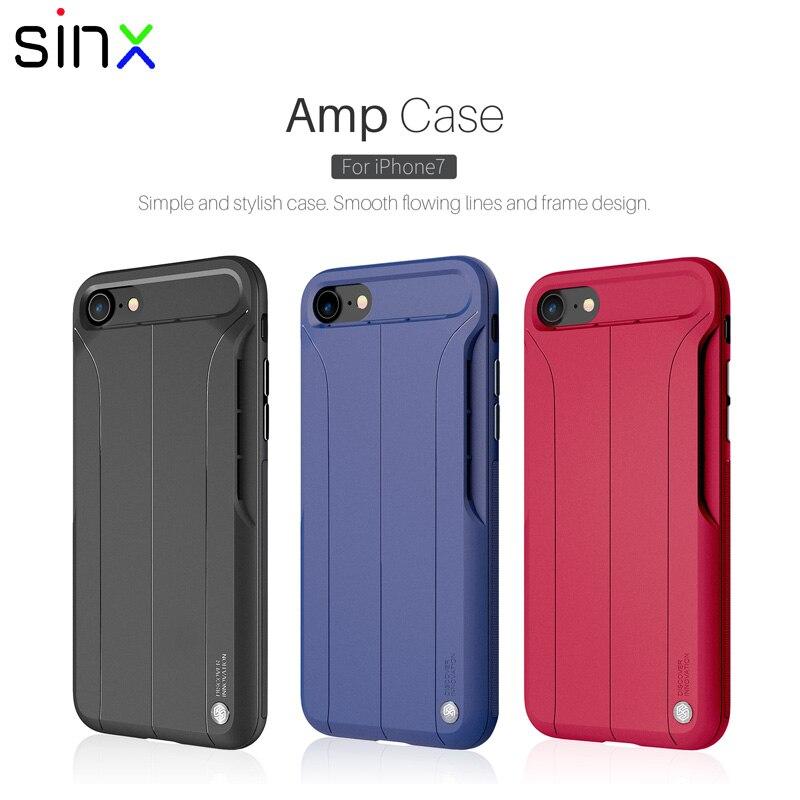Nillkin מגבר מקרה של ה-iphone 7 7 בתוספת אנטי לדפוק מצויד Case עבור ה-iphone 7 ביעילות להגביר מוסיקה נשמע עיצוב נגד החלקה