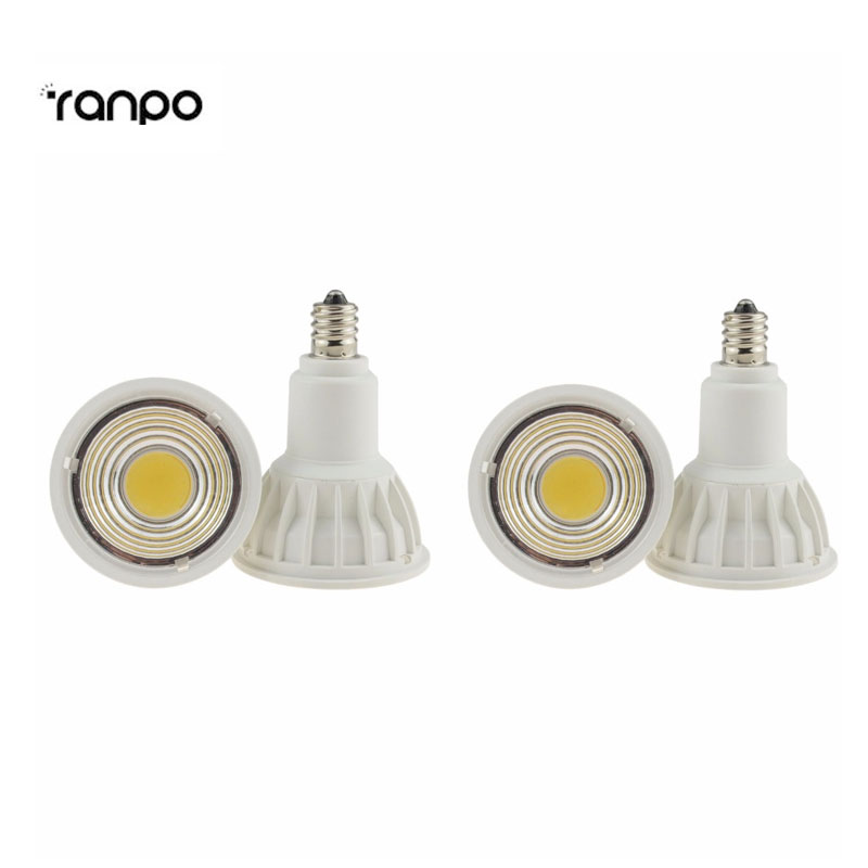2X E11 LED Spotlight COB 15W Bulb Lamp Light Energy Saving  85-265V 110V  220V  Non-dimmable Energy Saving 680lm mr16 7w cob warm white led spot bulb energy saving light 85 265v