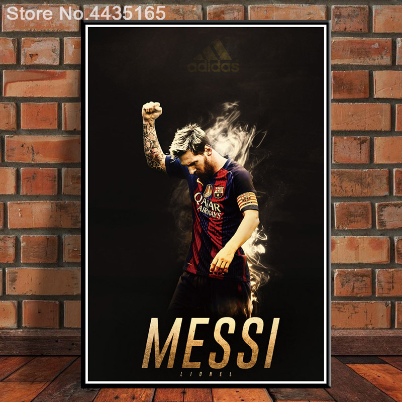 61x91 Hot Lionel Messi Football