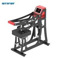 Wtsfwf 2IN1 Heat Press Machine 2D Heat Press Printer Machine For Caps Logos