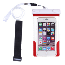 Waterproof Pouch for iPhone 6 6Plus Water Proof Diving Bags Outdoor Mobile Phone Cases Underwater Phone Bag with Neck Strap
