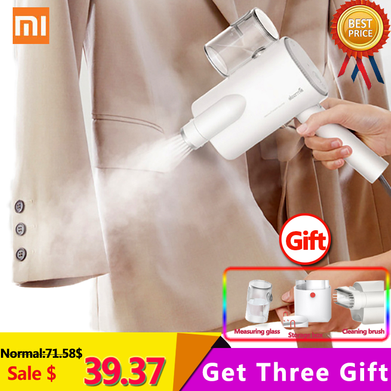 New Xiaomi Deerma DEM-HS006 Foldable Handheld Garment Steamer Steam Iron Household Portable Small Clothes Wrinkle SterilizationNew Xiaomi Deerma DEM-HS006 Foldable Handheld Garment Steamer Steam Iron Household Portable Small Clothes Wrinkle Sterilization