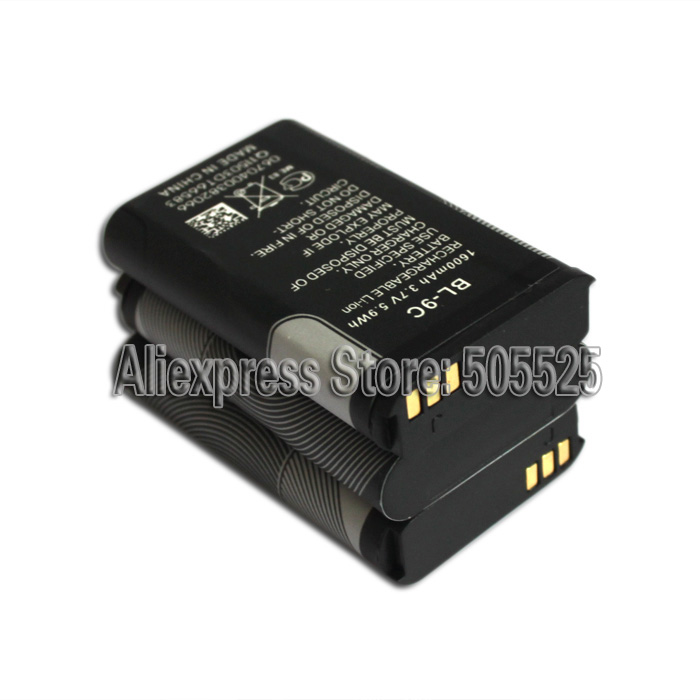 3.7V 1600mah Black Rechargeble Lithium Battery Of Shirt Button Scanner For Game Phone Predictor