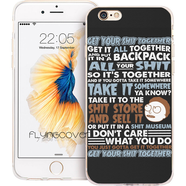 coque iphone x rick