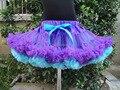 Новинка пушистые шифон Pettiskirts пачка девочки юбки принцесса танца износа ну вечеринку юбки PETS-056