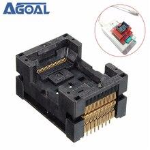 TSOP 48 IC354 0482 031P TSOP48 Socket Adapter 48 Pin 0.5 Pitch For Programmer IC FLASH Free Shipping