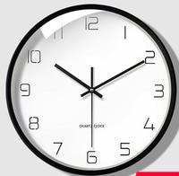 Nordic Art Wall Clock Mute Fashion Creative Clocks Pow Patrol Guess Women Living Room Bedroom Clock Silent Decorative 50Q188
