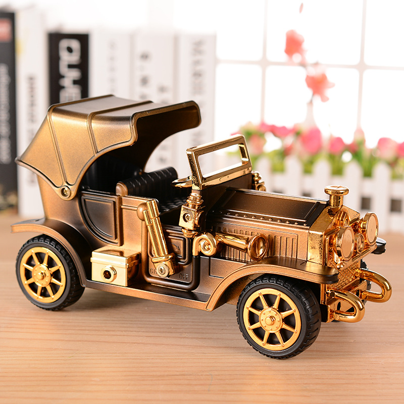 Ретро-винтаждық Car Music Box автомобиль - Үйдің декоры - фото 4