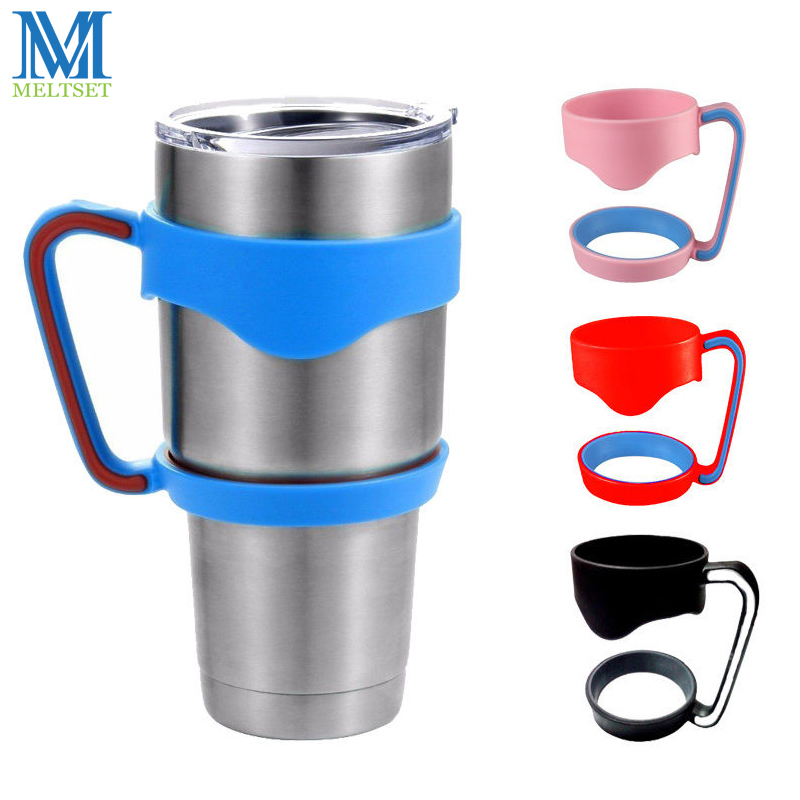 1PC Universal Standard <font><b>Cup</b></font> Holders Portable <font><b>Stainless</b></font> <font><b>Steel</b></font> Insulated <font><b>Tumbler</b></font> <font><b>Rambler</b></font> Mug Handle For 30oz <font><b>Yeti</b></font> <font><b>cup</b></font>
