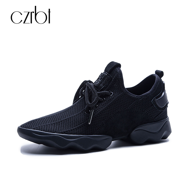 CZRBT Fashion Women Shoes Spring Autumn Platform Shoes High Quality Breathable Mesh Cloth Handmade Casual Shoes Woman Flat Shoes 2017 spring autumn breathable white wild men casual shoes 100% handmade pigskin leather comfort men shoes high quality size40 44