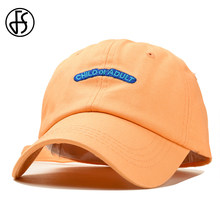 874b9cdee51 FS Yellow Red Streetwear Dad Hats Man Truck Summer Casual Cotton Funny Cap  Hip Hop Women