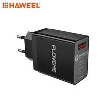 HAWEEL 18W USB Charger EU Wall QC 3.0 2.0 Adapter Fast Plug For iPhone, Galaxy, Huawei Mobile Phone Chargers