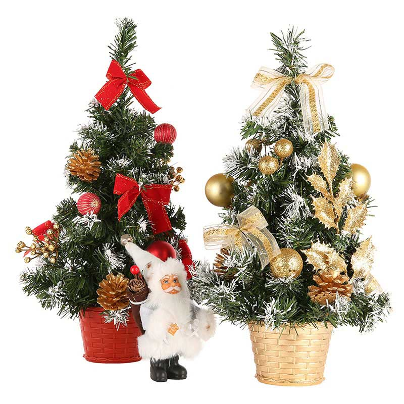 Buy 20cm 30cm 40cm mini christmas trees decorations a small pine tree placed in - Small christmas tree ideas ...